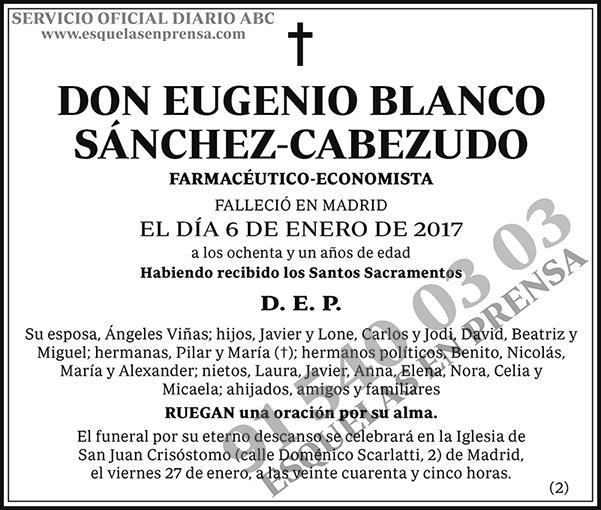 Eugenio Blanco Sánchez-Cabezudo